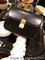 Wholesale leather messager bags resale online - 2020 fashion women messager belt genuine leather female vintage hot sale luxury designer bag lady best selling
