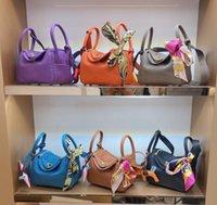 Women 2021 Luxurys Designers Fashion Handbags Lady Hand Bag Totes Handle Purse Saddle Top Quality Europe and AmericaTrend Handbag Leather