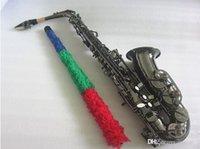 New High-quality alto sax Black Nickel Alto saxophone professional Musical Instruments saxophone Tone E Sax With Mouthpiece Free
