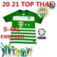 Wholesale free soccer uniforms for sale - Group buy Ferencvarosi Torna Club soccer jerseys TOKMAC NGUEN F Boli Zubkov M UZUNI LOVRENCSICS football shirts Uniforms