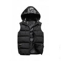 Wholesale Men outer wear winter waistcoat down vest feather design jackets casual vests coat mens down coats
