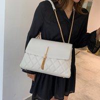 Wholesale purses over shoulder bags resale online - New Luxury Design Diamond Lattice Handbags Women Shoulder Crossbody bags Tassel Casual Tote Lady Messenger Bag Female Purse