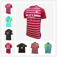 Wholesale free soccer uniforms for sale - Group buy Granada Soccer Jersey SOLDADO FERNANDEZ MACHIS PUERTAS F VICO football Shirt AZEEZ HERRERA VADILLO ETEKI SANCHEZ uniform