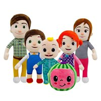 15-33cm Cocomelon Plush Toy Cartoon Tv Series Family Cocomelon Jj Family Sister Brother Mom And Dad Toy Dall Kids Chritmas Gift