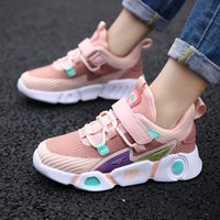 Wholesale sneakers infantil resale online - Unisex Children Comfortable Sneakers For Boy Breathable Fashion Outdoor Pink Girl s Shoes Tenis Infantil Size Q1123