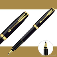 Free Shipping Metal Pen Top Quality Roller Pen Signature Ballpoint Pen Office School Suppliers Fast Writing Pens Stationery