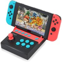 videospiel-konsole android groihandel-Ipega Switch Arcade Joystick USB Fight Stick Controller für Switch Retro Game Console Player Video Gamepad Android