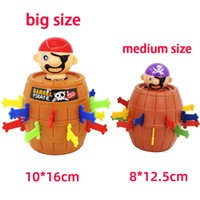 Novelty Games Pirate Barrel Color Box Funny Toy For Kids Teen Girls DIY Tricky Creative Gift