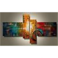 Wholesale museum modern arts resale online - Art Modern Abstract Oil Museum Quality Painting x40cm x2 x75cm x Hot Sale Wall Decor