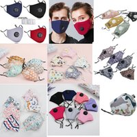 Wholesale best face masks resale online - Best Quality cycling mask Kids And Adult Face Masks With breathing valve Layer fashion trump face mask Dustproof Earloop Masks GWA2546