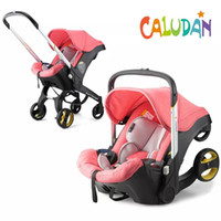 Baby Stroller 3 in 1 With Car Seat Bassinet High Landscope Folding Carriage Prams For Newborns