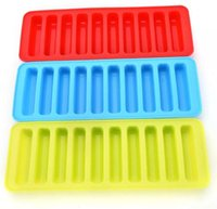 Wholesale ice marker resale online - 5pcs Silicone Ice Cube Tray Mold Ice Mould Fits For Water Bottle Ice Cream Markers Tool