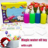 Wholesale drawing ocean for sale - Group buy Newest Magic Colorful handmade DIY Kids Early Education fairy ocean magical water drawing book Toys for Children