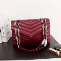 2021 designer luxury handbag shoulder bag ladies fashion metal chain leather crafted model:459749