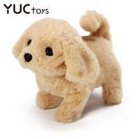 Wholesale talking dogs for sale - Group buy Barking Dogs Plush Toy For Children Talking Cute Rabbit Toys For kids Walking Wagging Pet Electronic Toys Girl Xmas Gifts