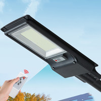 300W 600W Solar Street Lamp Outdoor Lighting Radar Sensor Road Light with pole remote control 492led 966led