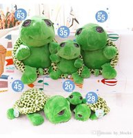 Wholesale small cute stuffed animals for sale - Group buy Cute Big Eyes Tortoise Plush Doll Pillow Cushion Stuffed Animal Toy Lovely Soft Cotton Small Sea Turtles Kid Gift