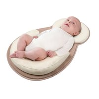 Wholesale travel mattress baby resale online - Baby cosysleep Correct Sleeping Position Pillow anatomical sleep positioner Childre Rollover Prevention Mattress to months