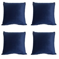 royal blue bedding 2021 - FREE SHIPPING Funny velvet pillow cover,Royal Blue cushion cases for sofa,car, bed,Zippered Velvet Pillow Covers