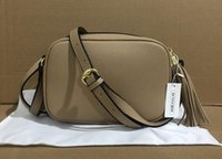 Wholesale messengers bags resale online - 2020 women handbags shoulder bags ladies tassel Litchi profile women messenger bags genuine leather bag with serial number