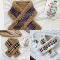Wholesale labeling for sale - Group buy 5404 Korean knitted solid color labeling Design autumn children s winter female wool scarf male wool scarf and warm luxury baby s