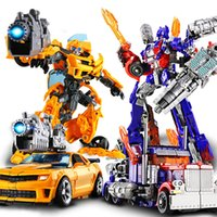 Wholesale movie robot for sale - Group buy DEXIN Transformation Bee bee Deformation Robot Car Toys Alloy Exquisite Detail Movable Movie Model For Boy Z1120
