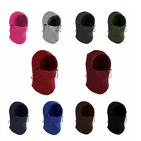 Wholesale warm wind dust mask resale online - Windproof warm face masks Multifunctional magic headscarf Outdoor Riding mask bib Sun protection dust scarf Wind hat YHM179