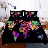 Wholesale sabanas 3d for sale - Group buy 3d King Size Bedding Set Home Textiles Bed Linen Map Bed De Cama Gift Sabanas Duvets And Linen Sets Cat Poplin