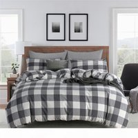Wholesale chinese bedding comforter sets for sale - Group buy 2020 New Style Chinese Style Washed Cotton Four Piece Home Textiles Set Bedding Article king size comforter set full