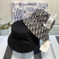 Wholesale pattern hats resale online - 2020 Black White Print Pattern Bucket Hats for Women Men Fishing Hat Sun Summer Sunscreen Fisherman Panama Reversible Hip Hop Cap