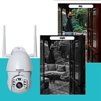 Wholesale wifi camara resale online - 1080P Degree IP Camara Waterproof CCTV Surveillance Camera Night Vision Outdoor Speed Dome Wifi Security Alarm Camera Audio