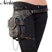 Wholesale motorcycle waist belt bag for sale - Group buy Norbinus Motorcycle Thigh Hip Belt Packs Women Steampunk Waist Leg Bags Messenger Shoulder Bags Men Victorian Style Holster Bag