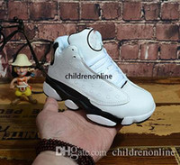 Wholesale quality shoes online for sale - Group buy Online Kids Basketball Shoes Children s High Quality Sports Shoes Youth Basketball Sneakers For Sale Size US11C Y EU28