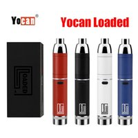 Original Yocan loaded Starter Kits 1400mah Battery QUAD & QDC Coli Available With Extendable Mouthpiece Vape Pen Dry Herb evolve plus