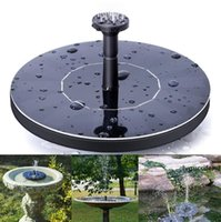 Wholesale pumps for ponds resale online - Outdoor Solar Powered Water Fountain Pump Floating Outdoor Bird Bath For Bath Garden Pond Watering Kit OOA5133