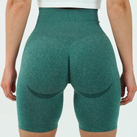 shorts de golf d'été achat en gros de-Vital Sports Sports Short Femmes Summer Taille High Taille Serrée Gym Leggings Squat Proof Tummy Control Workout Coureur Femmes Q1125