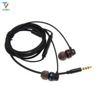 Wholesale fone ouvido headphone resale online - 3 mm In ear Earphones Stereo Headphone with Microphone for Xiaomi Huawei Samsung MP3 Fone De Ouvido