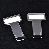 Wholesale nissan card resale online - 2pcs Car Styling Parking Ticket Clip Fastener Card Bill Holder Organizer Windshield Sticker For Nissan Hyundai Vw Audi Benz H bbyTIo