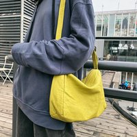 Wholesale vegan leather resale online - Women Small Size Soft PU Leather Sling Bag Teenager Female Vegan Leather Concise Stylish Cellphone Yellow Messenger Pouch Bag