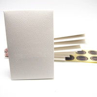 Start 20pcs Sample Mini White Paper Box Package Gift Bag For Pan Charm Bead Necklace Earrings Ring Pendant Jewelry Packaging Display