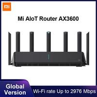 Xiaomi Mi AIoT Router AX3600 Wifi 6 Dual-Band 2976 Mbs Gigabit Rate WPA3 Security Encryption Mesh Wifi External Signal Amplifier