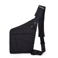 унисекс оптовых-Multi Pocket Councle Bag для мужской сумки Mean Men Anti-Theft Sling Men Business Cust Cust Cust Pack Unisex с интерфейсом гарнитуры
