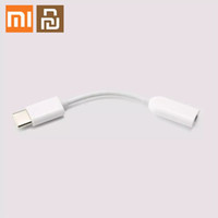 Xiaomi Youpin Type-C To AUDIO Male To 3.5mm Female Audio Adapter Cable Type C To 3.5 Headphone Aux Mi6 Mi 6 A2 Note 3 MIX 2S P20