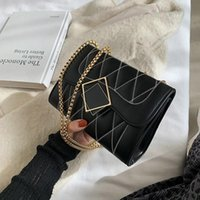 Wholesale korean cross body bags for sale - Group buy Toposhine Small Chain winter bag ladies new vintage one shoulder small bag Korean version simple versatile cross body bags