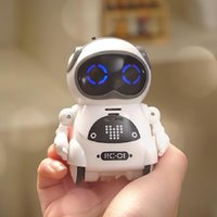 Wholesale toy robotics for sale - Group buy mini robot inteligente AI smart pocket robotics Early education voice interaction kids robot toy gift dancing telling story sing