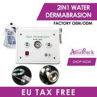 EU tax free 2in1 new arrival Hydro Dermabrasion Water Peeling Diamond Microdermabrasion facial peel hydrafacial skin beauty machine