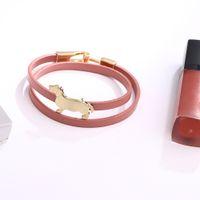 Wholesale multifunctional bracelets resale online - Off Tianji new creative DIY dog boutique women Pu Bracelet Korean hot selling collar multifunctional Bracelet