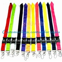 Customize Lanyard Cell Phone Detachable Strap Necklace Chain String For E-Cigarette ID card holder For Camera Mobile phones