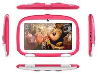 Wholesale Kids Tablet inch Quad Core children Cute cartoon dog tablet Android Allwinner google player MB MB RAM GB