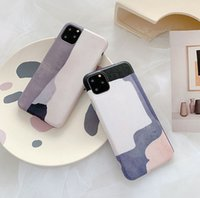 Wholesale abstract art paintings for sale resale online - Hot Sale Elegant Abstract Art Painting Phone Case for iPhone Silk Shockproof Soft TPU Back Cover for iPhone Plus X XR XS MAX